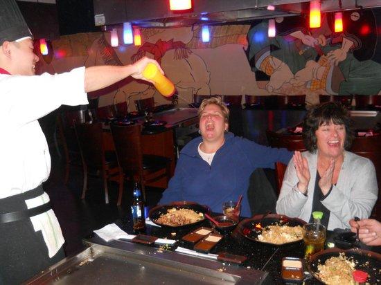 Shogun Hibachi Restaurant: Drink, drink, drink, yahhhhhh  saki!