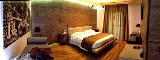 Berg Luxury Hotel: la chambre