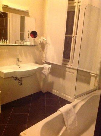 Hotel Klarov Prague : bathroom