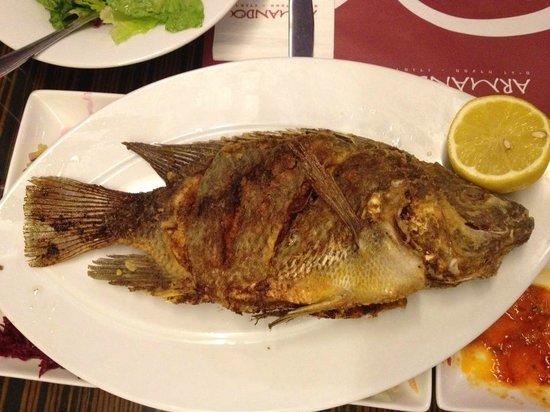 Sea Executive Suites: St. Peter's Fish for dinner, next door.