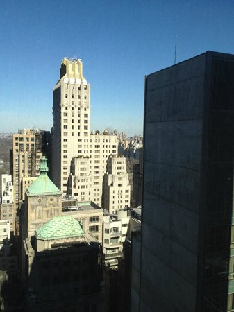 Le Parker Meridien New York: view from 32nd floor