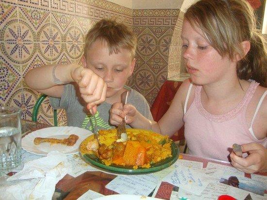 Restaurant du Peuple : Yummy couscous