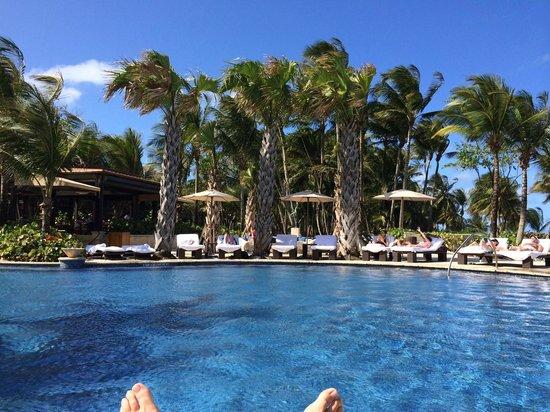 The St. Regis Bahia Beach Resort: The pool