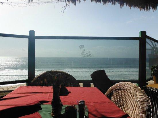 La Fonda Hotel & Restaurant : View from dining deck