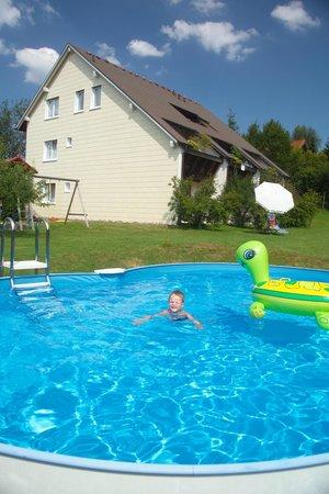 Gastehaus Sonneck: Aussenbereich Sommer