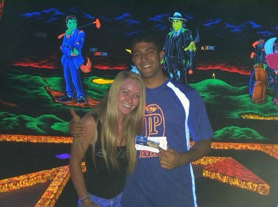 Monster Mini Golf: Contest winner.  Tickets to The Barclay's PGA Tour event