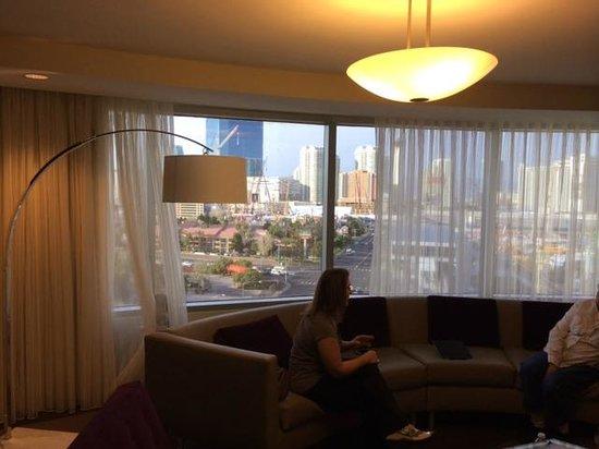 Renaissance Las Vegas Hotel: View from suite living room
