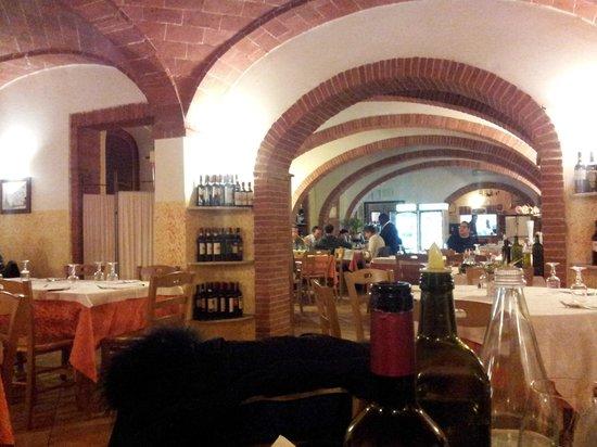 Albergo la Foresteria: sala ristorante