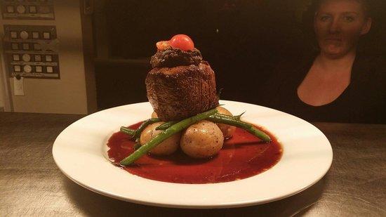 Postmaster's Residence: Fillet Steak!!!!