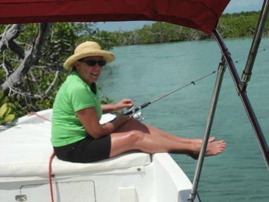 Classy Mystical Adventures Belize: Fishin' with Lorenzo
