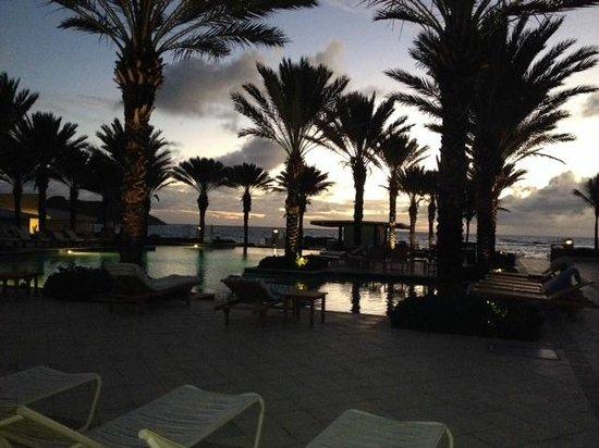 The Westin Dawn Beach Resort & Spa, St. Maarten: just before sunrise