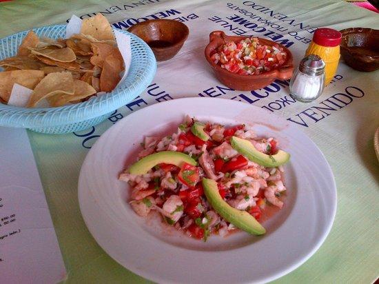 Calypso´s Comida Mexicana y Mariscos: Ceviche