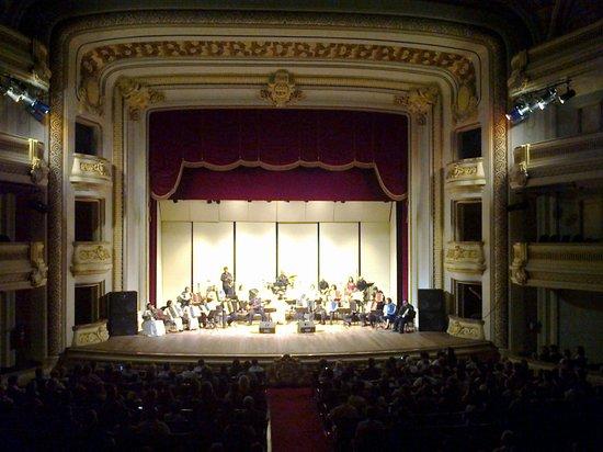 Pedro II  Theater: o palco