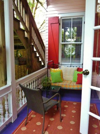 Key West Bed and Breakfast: One of the many cozy nooks for reading or chillin