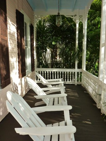 Key West Bed and Breakfast: Front porch