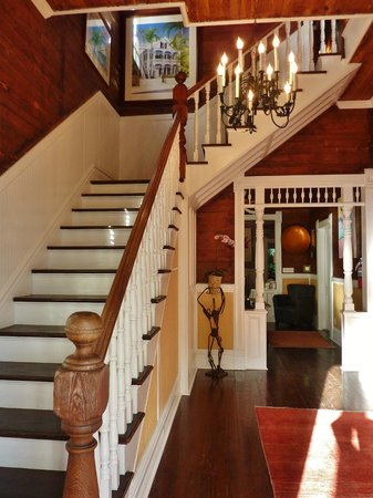 Key West Bed and Breakfast: What you see when you enter the B&B front door