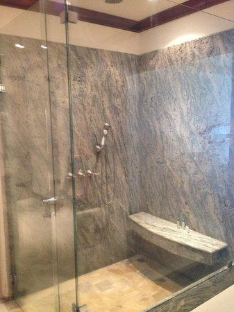 Tabacon Grand Spa Thermal Resort: Shower