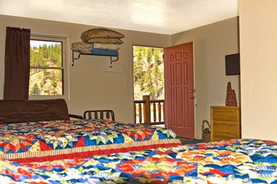 Mountain View Lodge & Cabins : Lodge Room