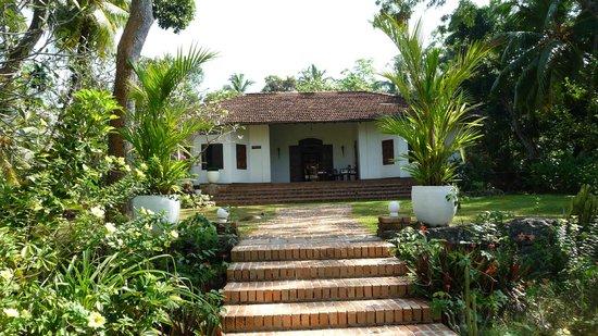 Templeberg Villa: Hotel entrance