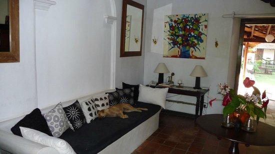 Templeberg Villa: The lobby