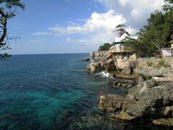 Xtabi Resort: view of the cliffs