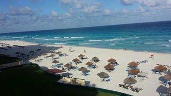 The Royal Caribbean: vue depuis lhotel