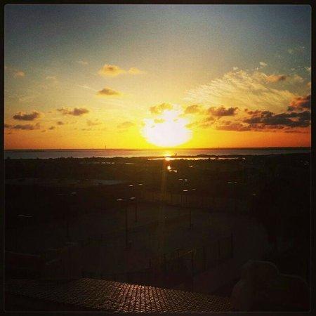 The Royal Caribbean: lever de soleil depuis la chambre