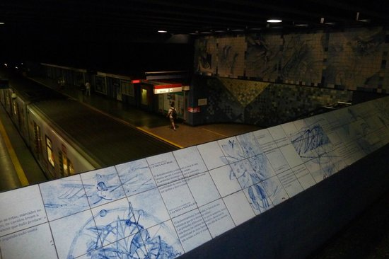 Metro Arte Santiago