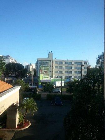 Hampton Inn & Suites San Juan: View from my room