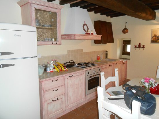 Torre Valbiancara Country House : Cucina
