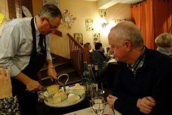 Restaurant Chez Max : Cheese!