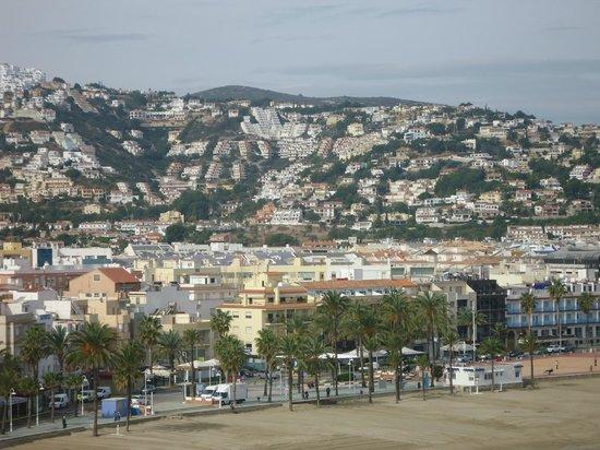 Hotel & Spa Peniscola Plaza Suites: Vista panoramica Peñiscola