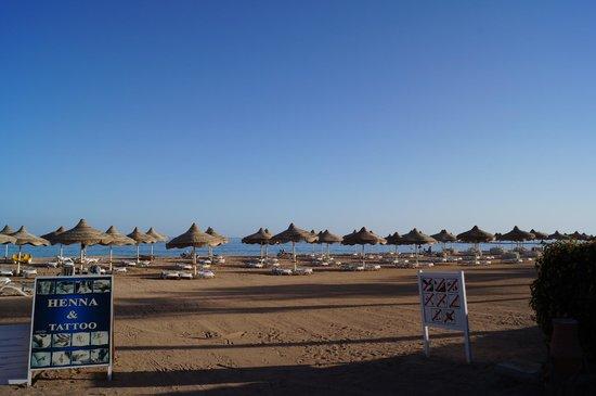 Baron Resort Sharm El Sheikh: пляж