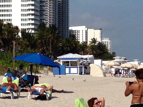 Holiday Inn Miami Beach : Praia em frente ao hotel