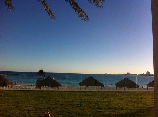 Krystal Grand Punta Cancun: Vista final de tarde
