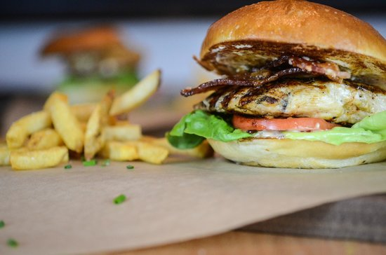 Red Door Woodfired Grill: Honey Grilled Chicken Sandwich
