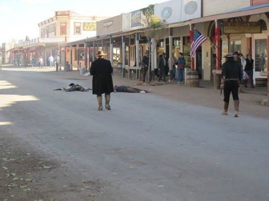 Allen Street: Mouth off in the streets of Tombstone