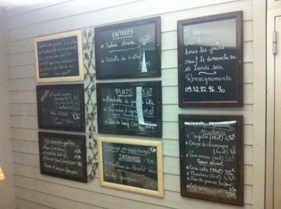 Carte l entr e photo de la maison des chefs coutances tripadvisor - L entree de la maison ...