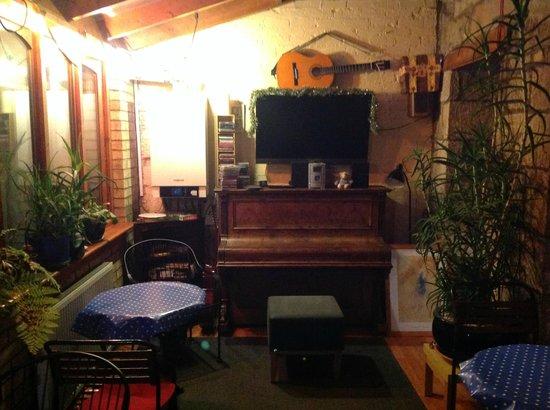 Argyle Backpackers: Área comum de alimentação e recreação