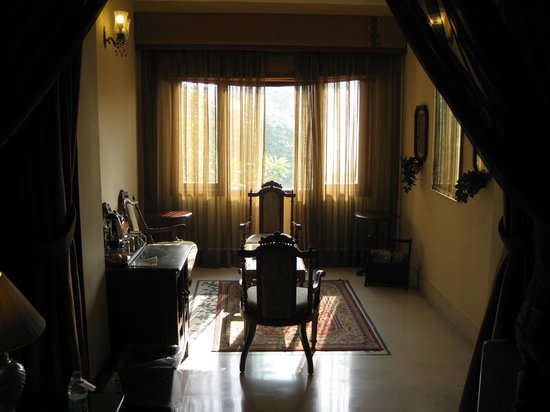 The Grand Imperial, Agra : sitting area