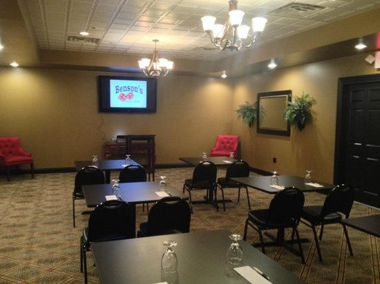 Benson's Hard Eight Bar & Grill: Private Meeting Room