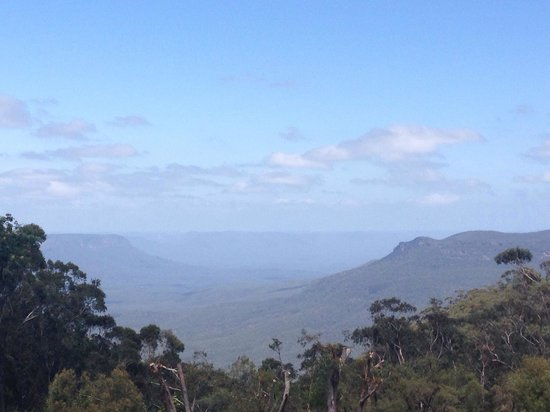 Fairmont Resort Blue Mountains - MGallery Collection : View from the terrace, not complaining!