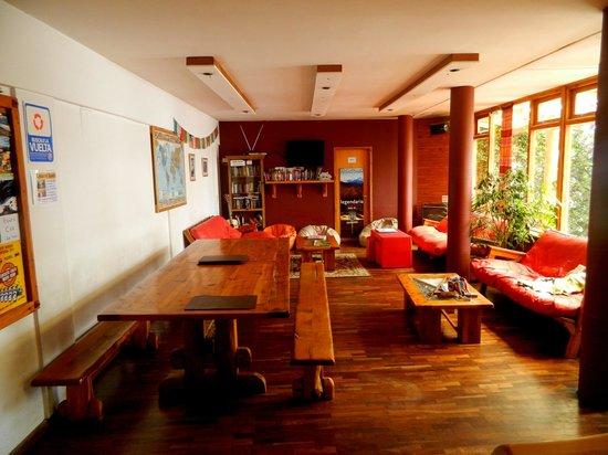 Hostel 41 Below: El área común