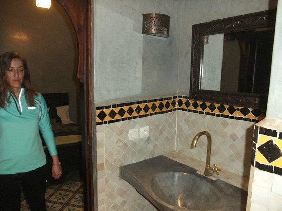 Riad Marrakiss : Lavabo