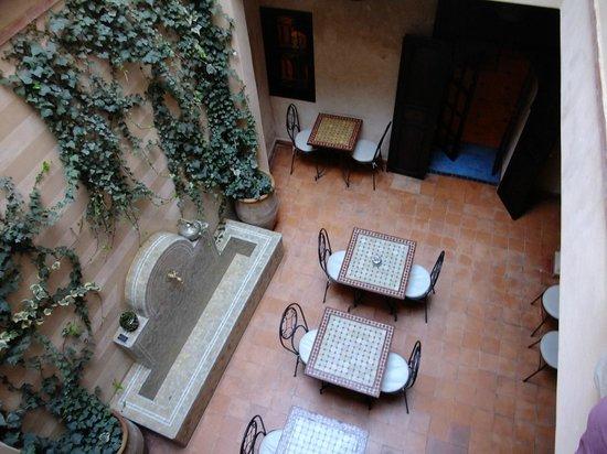 Riad Marrakiss : Patio interior