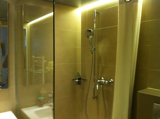 Hotel Alexander: Room 201 - Shower