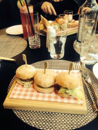 The Balcony Bar & Brasserie: Slider Starter
