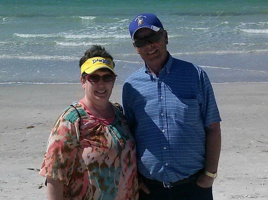 Holiday Inn St. Petersburg North / Clearwater: Us at the beach.