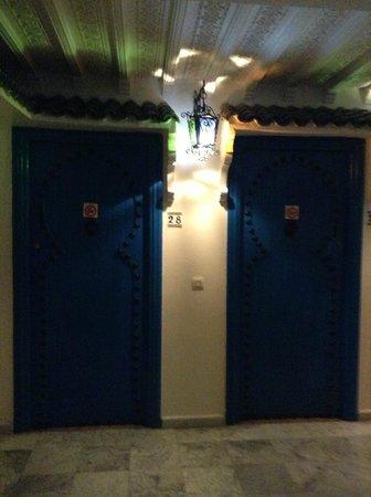 Moroccan House Hotel Casablanca : entrada a la habitación