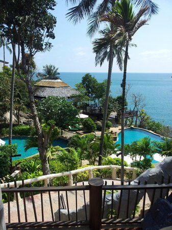 Panviman Resort - Koh Pha Ngan: View from the balconie.